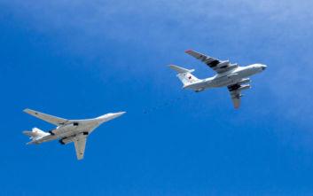 Ρωσικά βομβαρδιστικά πέταξαν απέναντι από την Αλάσκα των ΗΠΑ
