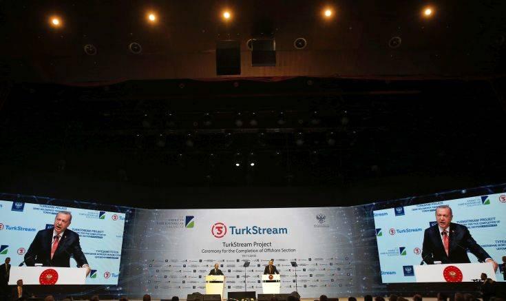 Ο Turk Stream παρακάμπτει την Ελλάδα