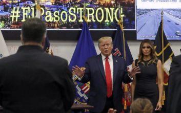 Ο Τραμπ πήγε στο Ελ Πάσο για συμπαράσταση και κατέληξε να… αυτοαποθεώνεται