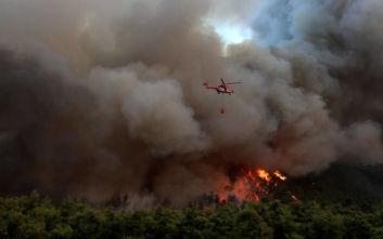 Συναγερμός στην Πυροσβεστική: Δυο φωτιές στη Βοιωτία