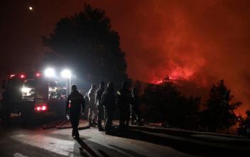 Ενδείξεις εμπρησμού για τη μεγάλη φωτιά στην Εύβοια