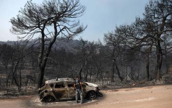 Ανοιχτά όλα τα ενδεχόμενα για τα αίτια της πυρκαγιάς στην Εύβοια