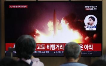 Άλλες δύο εκτοξεύσεις πυραύλων από τη Βόρεια Κορέα