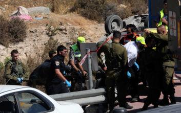 Παλαιστίνιος οδηγός έπεσε νεκρός από ισραηλινά πυρά, αφού έριξε το αυτοκίνητό του σε πολίτες