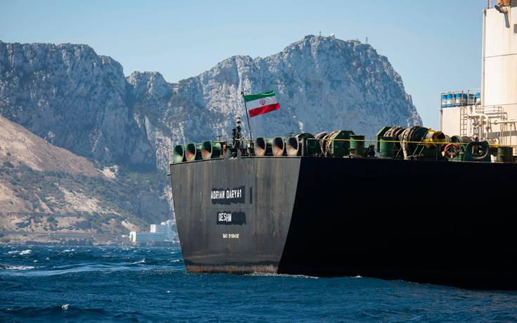 Στην Ελλάδα κατευθύνεται το ιρανικό τάνκερ, που κρατούνταν στο Γιβραλτάρ