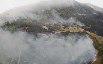 Η Βραζιλία δέχεται βοήθεια από τη Χιλή για την κατάσβεση των πυρκαγιών
