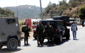 Νεκρή 17χρονη Ισραηλινή σε βομβιστική επίθεση στη Δυτική Όχθη