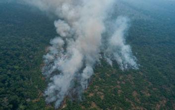 Συνεχίζουν να μαίνονται οι πυρκαγιές στον Αμαζόνιο