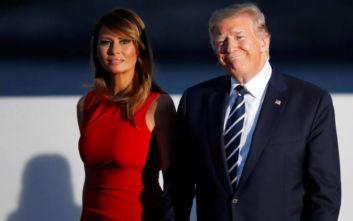 Φωτιά στα κόκκινα η Μελάνια Τραμπ κέρδισε όλες τις εντυπώσεις