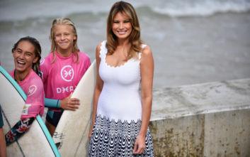 Οι πρώτες κυρίες άφησαν τη G7 και αφιέρωσαν τη μέρα στην προστασία των ωκεανών