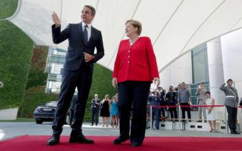 Οι κοινές δηλώσεις Μητσοτάκη – Μέρκελ από το Βερολίνο