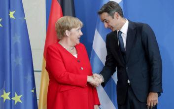 Τηλεφώνημα Μητσοτάκη - Μέρκελ για τη Λιβύη και τη διάσκεψη του Βερολίνου