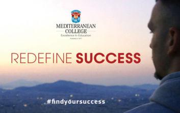 Σε ένα από τα 26 καλύτερα Πανεπιστήμια της Μ. Βρετανίας η νέα καμπάνια του Mediterranean College