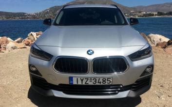 Οδηγούμε την BMW X2 sDrive18i