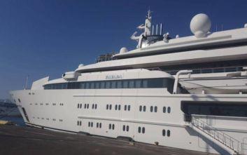 Στο λιμάνι της Κέρκυρας η υπερπολυτελής θαλαμηγός της βασιλικής οικογένειας του Κατάρ