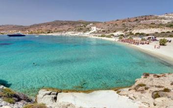 Η παραλία της Κιμώλου που μαγεύει με την απόκοσμη ομορφιά της