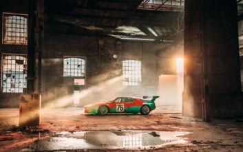 Ο Andy Warhol τιμά την BMW M1, ένα μοντέλο-σταθμός της βαυαρικής μάρκας