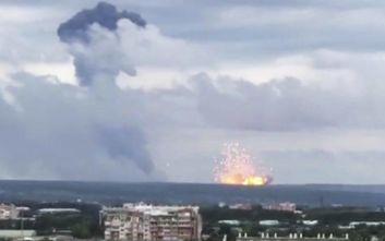 Πούτιν: Δεν υπάρχει κίνδυνος ραδιενέργειας από την έκρηξη στη στρατιωτική βάση