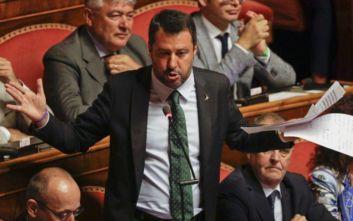 Ο Σαλβίνι κατηγορεί το Κίνημα των 5 Αστέρων για την κατάρρευση της ιταλικής κυβέρνησης