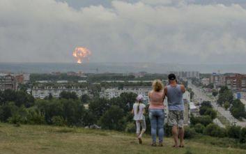 Πέντε τραυματίες από νέες εκρήξεις σε αποθήκες πυρομαχικών στη Σιβηρία