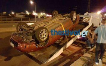 Ένας νεκρός και τρεις τραυματίες σε τροχαίο στην Κριθιά Θεσσαλονίκης