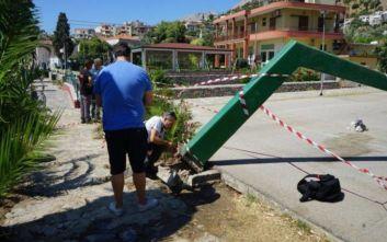 Η μπασκέτα στη Χίο δεν είχε συντηρηθεί εδώ και 31 χρόνια