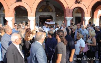 Το τελευταίο αντίο στον ηρωικό ψαρά του Ματιού, Κώστα Αρβανίτη