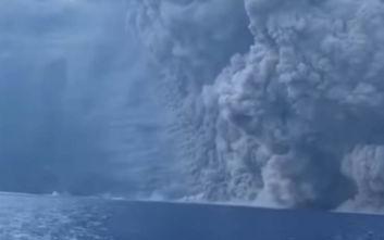 Εικόνες που κόβουν την ανάσα από το ηφαίστειο Στρόμπολι
