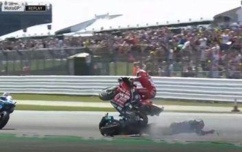 Τρομακτικό ατύχημα στο MotoGP, Ducati τυλίχθηκε στις φλόγες