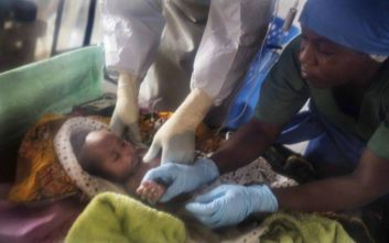 Κοριτσάκι 1 έτους το τρίτο κρούσμα του Έμπολα στην Γκόμα