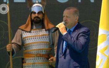 Ερντογάν: Κανείς δε μπορεί να μας σταθεί εμπόδιο στην ανατολική Μεσόγειο