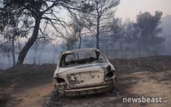 Μεγάλη φωτιά στην Εύβοια: Σώθηκαν τα 4 χωριά