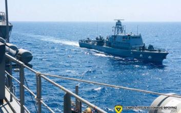 Το Πολεμικό Ναυτικό της Κύπρου «περιπολεί» στην ανατολική Μεσόγειο