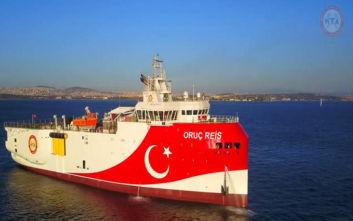 Συνεχίζεται η επιθετική πολιτική της Άγκυρας, το Ορούτς Ρέις βγαίνει στη Μεσόγειο