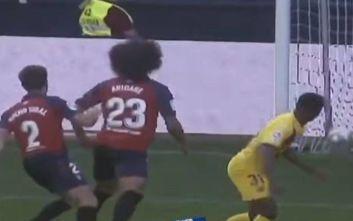 Ισοπαλία για Οσασούνα- Μπαρτσελόνα με 2-2