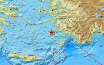 Νέος σεισμός στο Αιγαίο ταρακούνησε την Κω