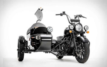 Μοτοσικλέτα και… ψησταριά 2 σε 1