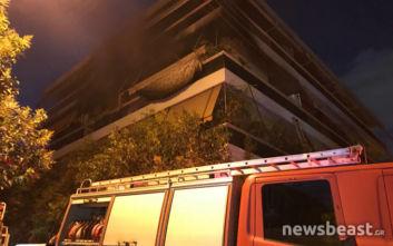 Φωτιά σε διαμέρισμα στον Κορυδαλλό
