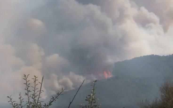 Έφτασε στα νησιά του Αιγαίου ο καπνός από τη φωτιά στην Τουρκία