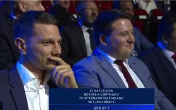 Champions League: Η τρομερή αντίδραση των ανθρώπων της Σλάβια Πράγας όταν έμαθαν τον όμιλο