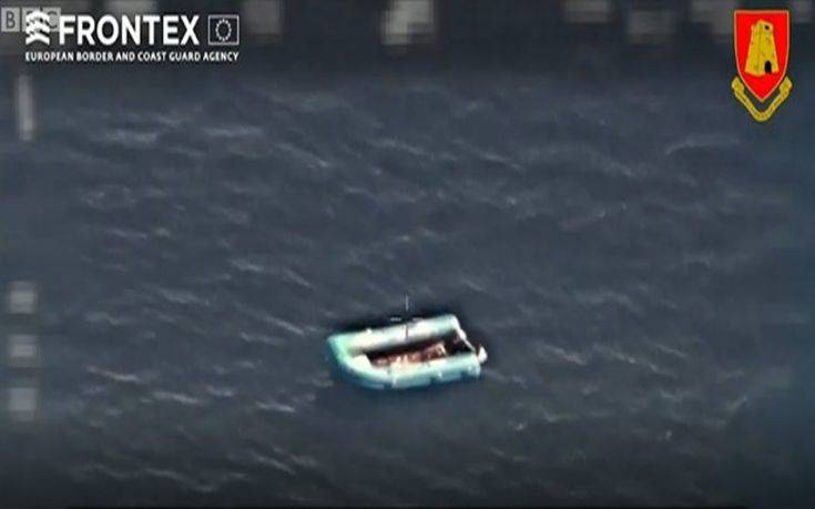 Βίντεο από τη διάσωση του μοναδικού επιζώντα του ναυαγίου στη Μεσόγειο