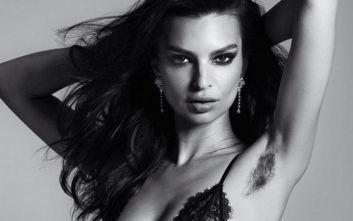 Γιατί η Έμιλι Ραταϊκόφσκι φωτογραφίζεται με αξύριστη μασχάλη