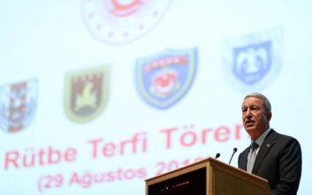 Προκαλεί ο Τούρκος υπουργός Άμυνας: Αν χρειαστεί, θα επαναλάβουμε το 1974