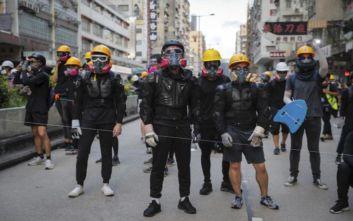 Νέα καθιστική διαμαρτυρία στο αεροδρόμιο του Χονγκ Κονγκ προγραμματίζουν σήμερα οι διαδηλωτές