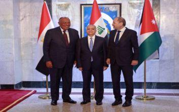 Συνομιλίες Ιράκ Αιγύπτου και Ιορδανίες για συνεργασία κατά της τρομοκρατίας