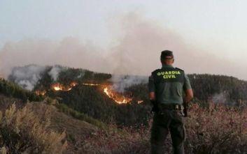 Νέα πυρκαγιά εκδηλώθηκε στη νήσο της Γκραν Κανάρια