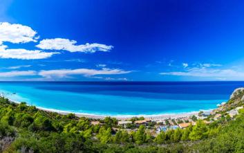 Η ονειρική παραλία της Λευκάδας