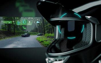 Το πιο τεχνολογικά προωθημένο κράνος για μοτοσικλετιστές