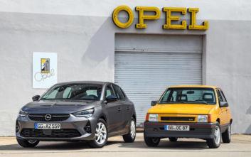 Συνάντηση γενεών: Το νέο Opel Corsa συναντά ένα σπάνιο Corsa GT