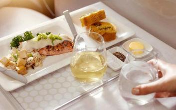Το πιο πολυτελές γεύμα σε αεροπλάνο σερβίρεται από την Air New Zealand